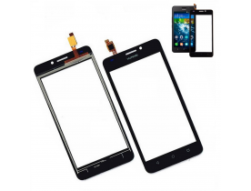 Touch screen vetro schermo display per Huawei Ascend Y635 Nero
