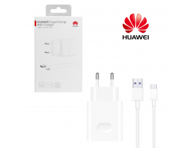 Huawei caricabatterie supercharge originale con cavo type C carica veloce in blister