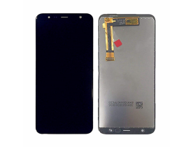 TOUCH SCREEN LCD DISPLAY PER SAMSUNG GALAXY J4 PLUS J6 PLUS SM J415 J610 NERO