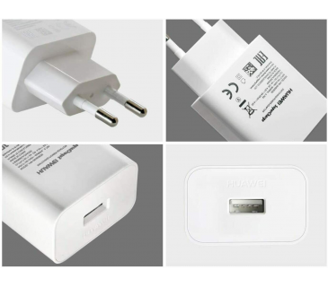 Huawei caricabatterie supercharge originale con cavo type C carica veloce