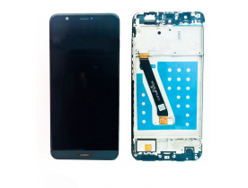 Display Lcd Touch screen vetrino per HUAWEI P SMART FIG-LX1 NERO
