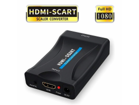 Convertitore adattatore video audio da scart a HDMI 1080P PER PS3 SKY BOX TV WII