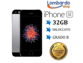 iPhone SE ricondizionato 32GB grado B nero grey originale Apple rigenerato