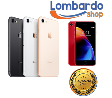 Apple Iphone 8 GRADO A 256GB originale rigenerato ricondizionato