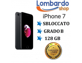 Apple iPhone 7 128GB grado B Nero Opaco originale rigenerato ricondizionato