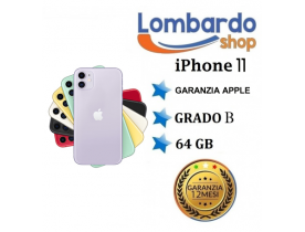 Apple Iphone 11 GRADO B 64 GB originale rigenerato ricondizionato