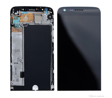 Touch screen Lcd Display Frame per LG G5 H850 H840 H830 H831 assemblato Nero