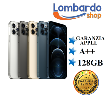 Apple Iphone 12 Pro GRADO A++ 128 GB originale rigenerato ricondizionato