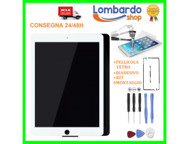 Touch screen vetro display per Apple iPad AIR 2 Bianco Nero A1566 A1567 WIFI 3G