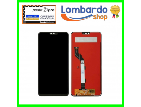 Lcd display vetro touch screen XIAOMI MI8 MI 8 Lite NERO 6.26