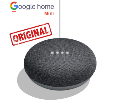 Google Home mini originale assistente vocale cassa Google Nero