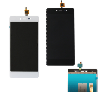 Display Lcd + Touch Screen Vetro per Wiko Fever 4G