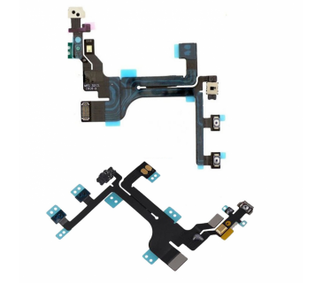 Cavo flat tasto on off pulsanti laterali volume mute accensione per Iphone 5C