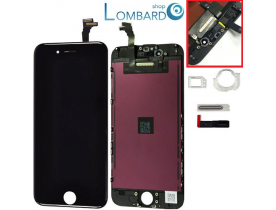 Touch screen frame schermo 4.7 vetro lcd display retina per iPhone 6 nero