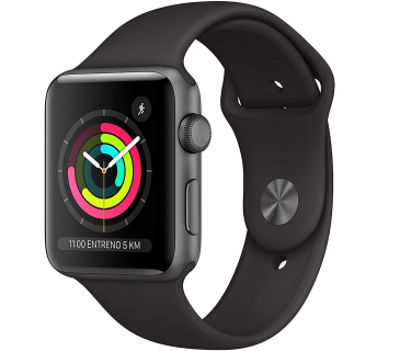 Apple Watch serie 3 sport 42MM Nero grado B originale rigenerato