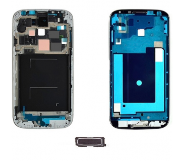 Middle frame telaio centrale metal plate per Samsung GALAXY S4 i9505 SILVER