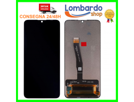 "Touch screen Lcd display vetro per HUAWEI P SMART PLUS 2019 POT-LX1T 6,21"" Nero"