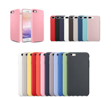 Cover custodia in silicone per APPLE IPHONE 6 6S 7 8 PLUS
