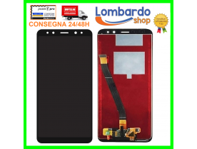 Touch screen lcd display + frame per HUAWEI MATE 10 LITE Nero RNE-L01 RNE-L21 NOVA 2i