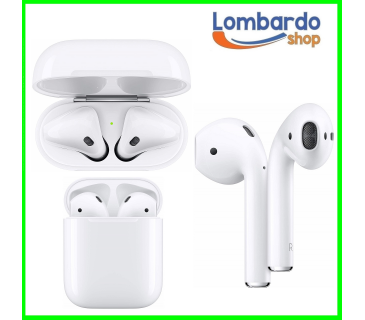 Apple airpods ricondizionato auricolare bluetooth wireless