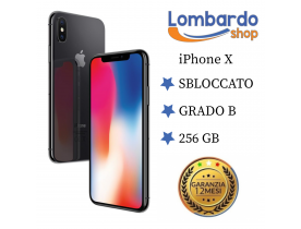 Apple Iphone X GRADO B 256GB originale rigenerato ricondizionato