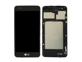 Display touch screen per LG K4 2017 M160 NERO con frame