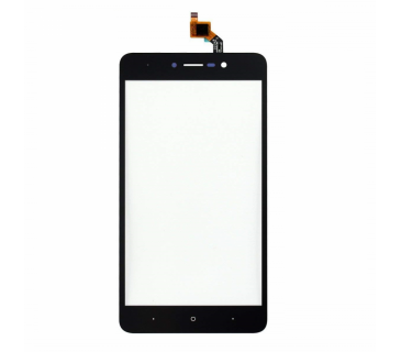 "Touch screen vetrino digitizer 5.5"" per WIKO LENNY 4 PLUS Nero"