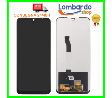 Display lcd vetro touch screen per XIAOMI REDMI NOTE 8T M1908C3XG TFT NERO